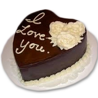 Love You Choco Cake